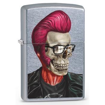 Zippo Rockabilly Skull Prof 60002467