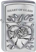 Zippo Heart of Glass 2000848