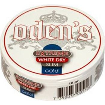 Oden's Cold Extreme White Dry Portion Slim Snus