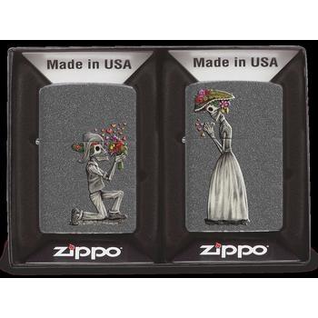 Zippo Day of Dead Skulls 2x 60002305