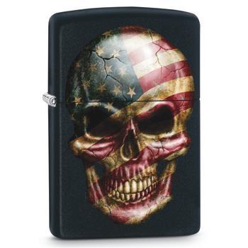 Zippo Skull Flag 60002715