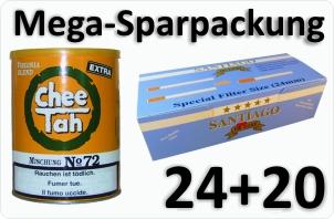 24 Dosen Chee tah gelb + 4000 Doppelfilterhülsen