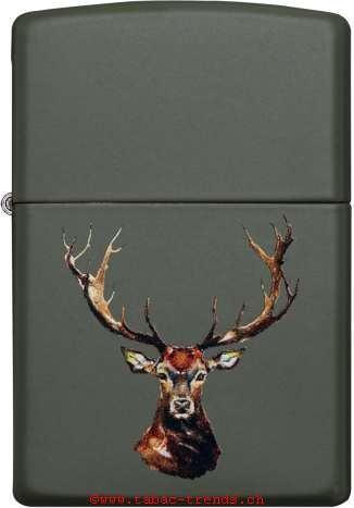 Zippo 60004946 Deer Head