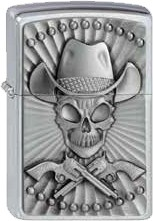 Zippo Cowboy Skull 2001982