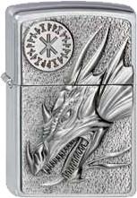 Zippo Dragon Amulet Emblem 2002726
