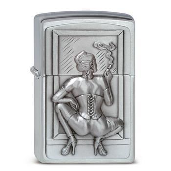 Zippo Reg Smoking Woman 1300127