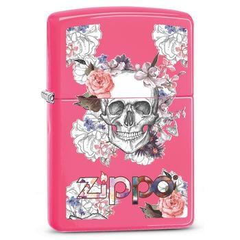 Zippo Skull and Flowers 60002572