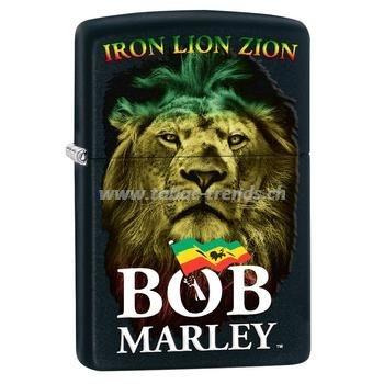 Zippo Bob Marley Iron Lion Zion