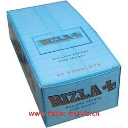 Rizla Double Window blau Box