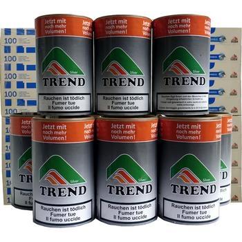 Tabak Trend Silver & Gizeh Click Filterhülsen