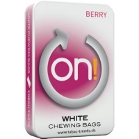 ON! Berry - White Chewing Bags