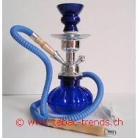 Shisha Wasserpfeife blau 1er 27cm