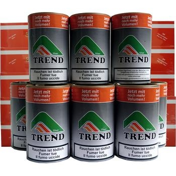 Tabak Trend Silver & Santiago Filterhülsen