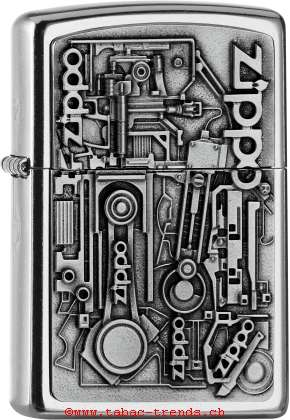 Zippo 2006539 Plakette Motor Parts