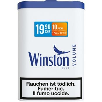 Winston Volume Zigaretten Tabak eckig