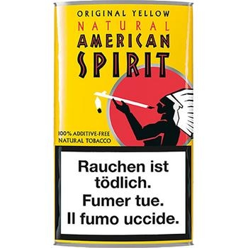 American Spirit Yello Pouch Natural