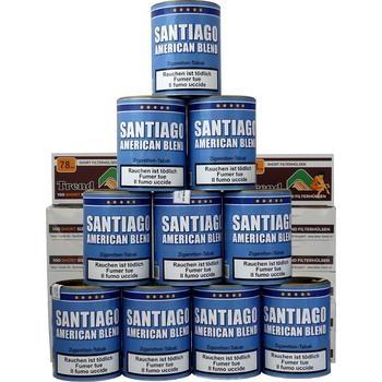 Santiago American Blend & Trend Short Filterhülsen