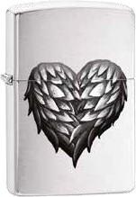 Zippo Winged Heart 60002491