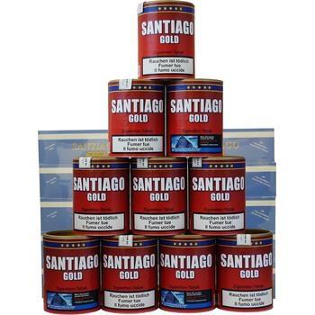 Santiago Gold Tabak & Doppel-Filterhülsen