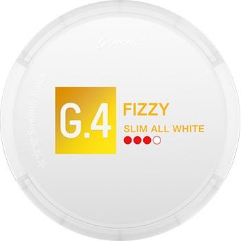 G.4 FIZZY Slim All White Snus