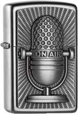 Zippo Microphone Retro Style 2004656