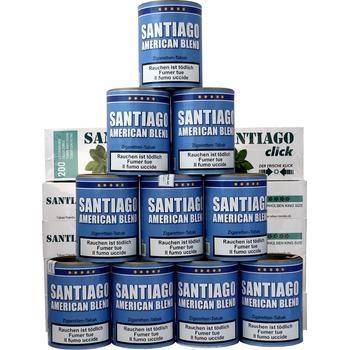 Santiago American Blend & Santiago Click Filterhülsen
