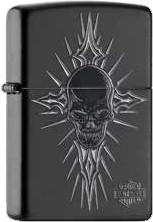 Zippo HD Skull Black 60001010