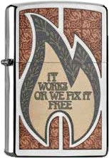 Zippo It Works Or We 60001005