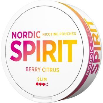 Nordic Spirit Berry Citrus Slim Snus