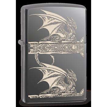 Zippo Black Ice Engr.AnneStokes 60001615