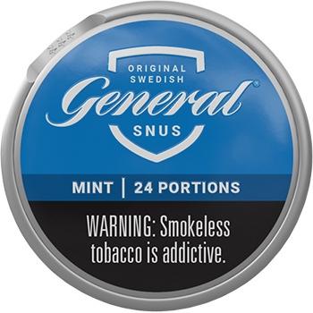 General White Mint Portion Snus