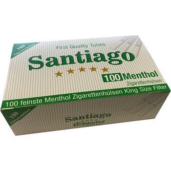 Santiago Menthol Filterhülsen
