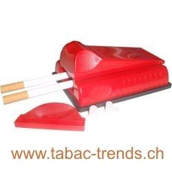 Doppel Zigarettenstopfmaschine