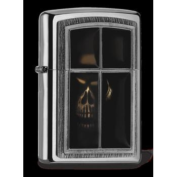 Zippo Window Skull 2005065