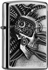 Zippo Cyberpunk Skull 2005057