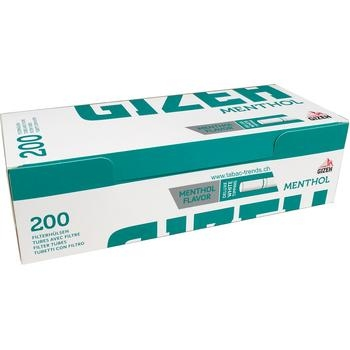 Gizeh Zigarettenhülsen mit Mentholfilter