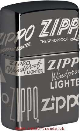 Zippo 60004956 Zippo Logos Gelasert