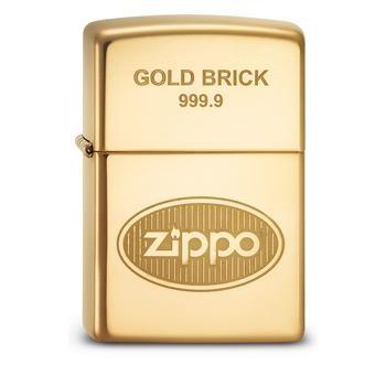 Zippo Reg Gold Brick 999.9 2003588
