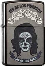 Zippo Dia De Los Muertos 60001987