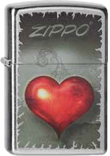 Zippo Victorian Heart 60001389