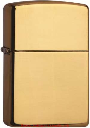 Zippo 60001165 204b Brass Brushed