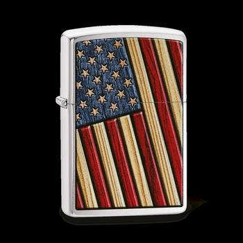 Zippo Wooden Flag 60003385