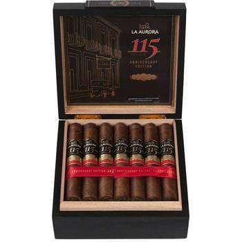 La Aurora 115 Anniversary Robusto - 20 Zigarren