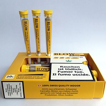Cannabis-Joint Sweet Haze Yellow