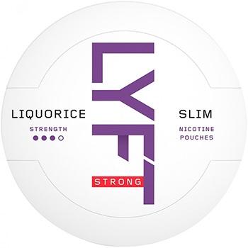 Lyft Licorice Strong Slim Snus