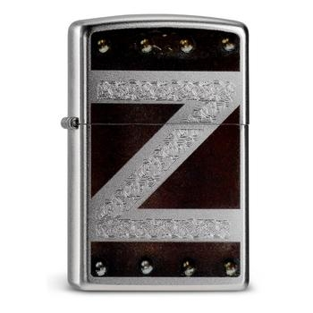 Zippo Leather Metal Design 60000066