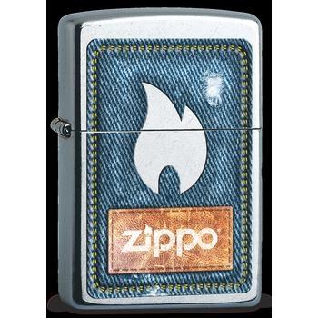 Zippo Denim Zippo And Flame 60003249