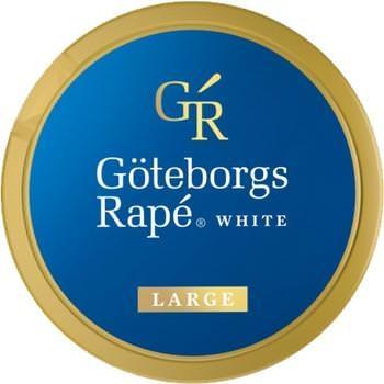 Göteborgs Rapé White Large