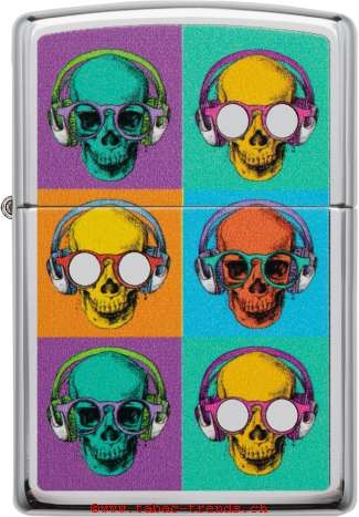 Zippo 60004857 Skull Glasses