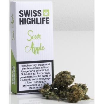 Swiss Highlife Sour Apple 1.7g